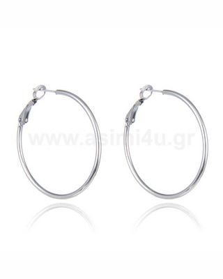 Stainless Steel κρίκος με Clip 20-80mm