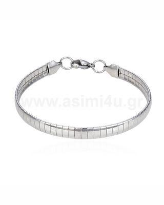 Ατσάλινη αλυσίδα ποδιου 4mm 21+5cm